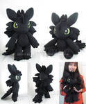 Toothless doll