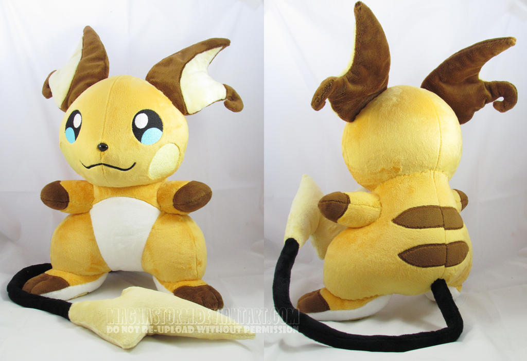 Larger Raichu by MagnaStorm