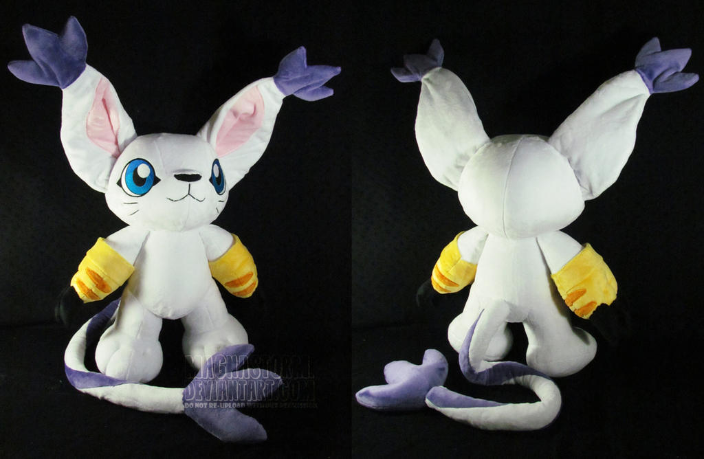 Gatomon/Tailmon by MagnaStorm