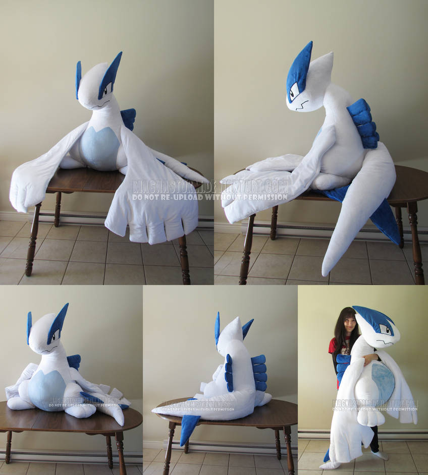Giant Lugia by MagnaStorm