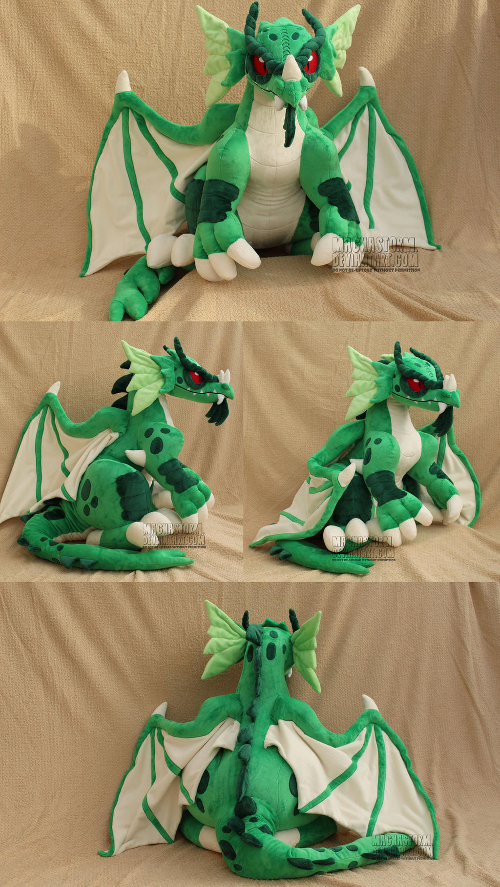 Green Dragon by MagnaStorm