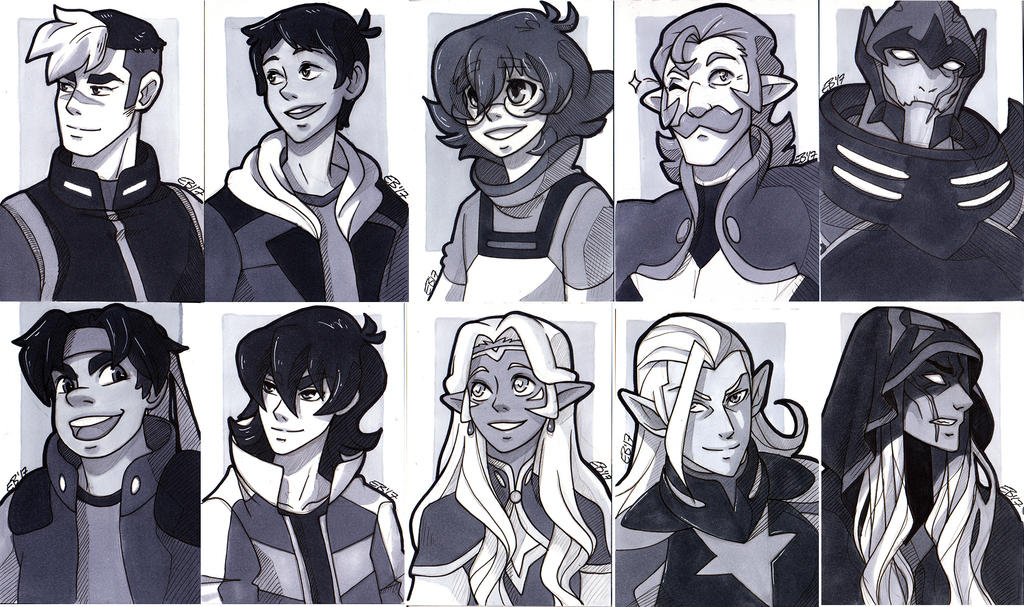 Voltron by MagnaStorm
