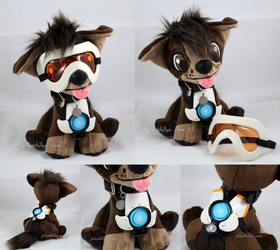 Tracer Puppy by MagnaStorm