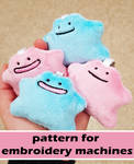 Ditto keychain ITH pattern by MagnaStorm