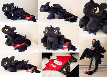 giant toothless (2019 ver) by MagnaStorm