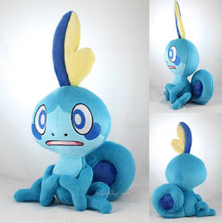 Sobble (for sale!) by MagnaStorm