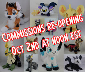 Comms re-opening Oct 2nd at noon EST(read desc)