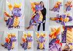 Giant Spyro by MagnaStorm