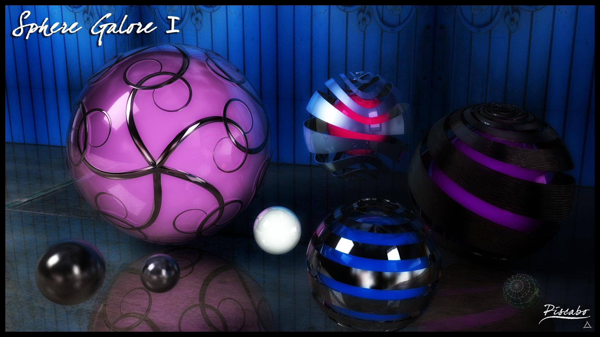 Sphere's Galore I by FracZky