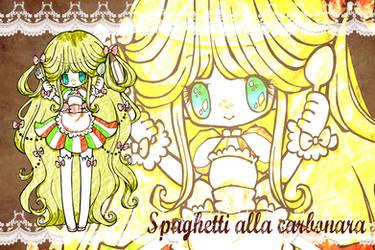 Spaghetti alla carbonara chan