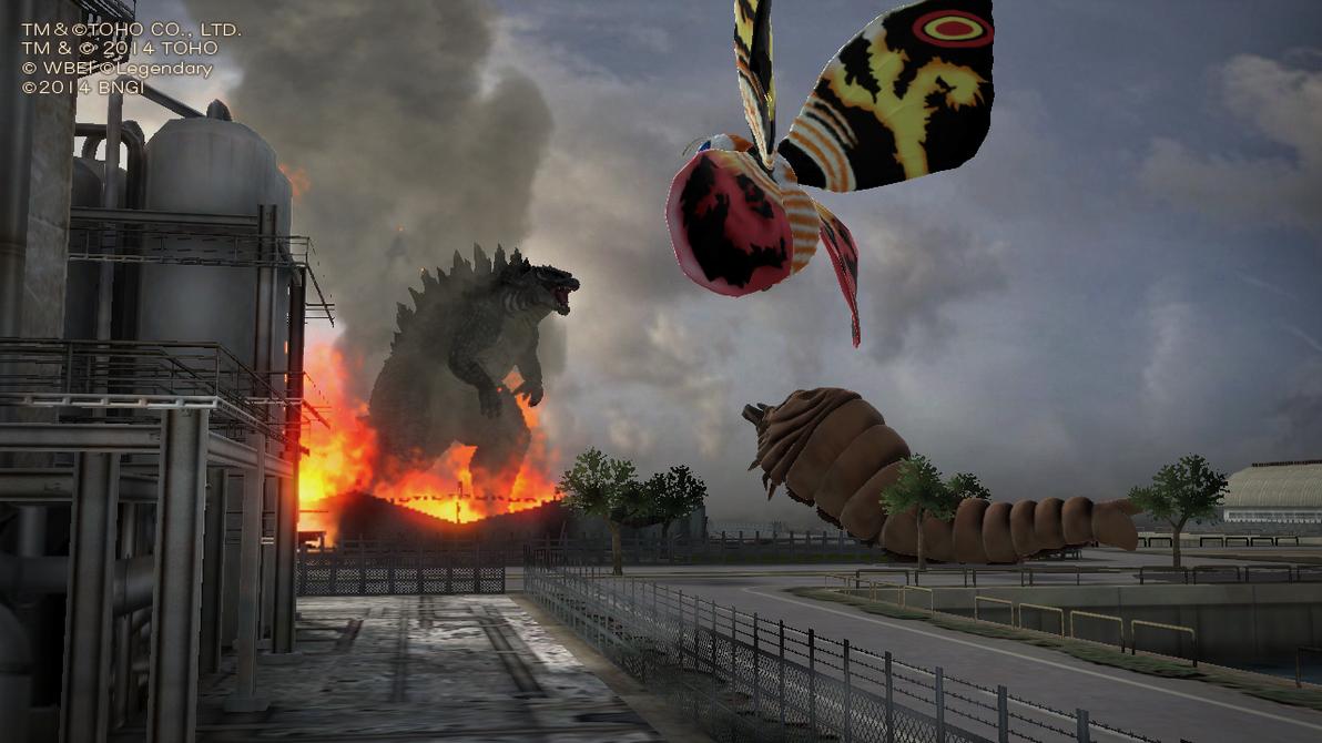 [Análise] Godzilla - PS3/PS4 Diorama_from_godzilla_ps3_by_digihacker87-d8onns5
