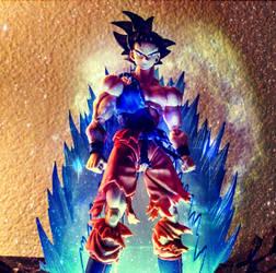 Goku Ultra Instinct by digihacker87