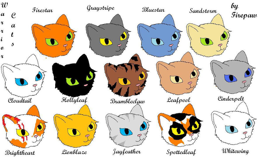 Pictures Of Warrior Cats Thunderclan Leaders Kidskunstfo