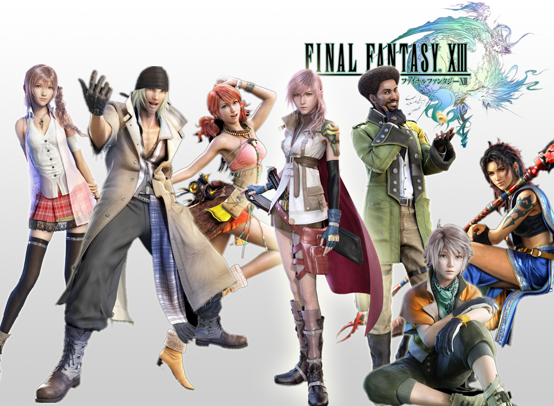Final Fantasy Xiii Characters The single biggest pie...