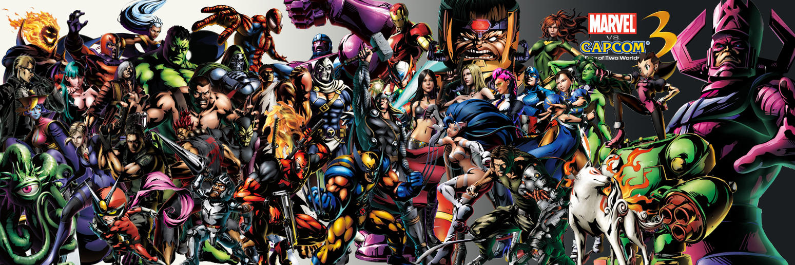 Marvel vs capcom 3 characters by pacduck