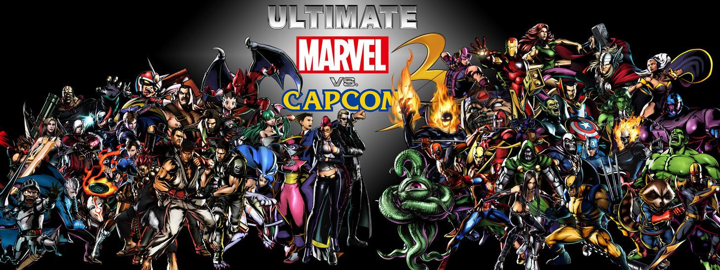 Ultimate Marvel vs  Ca...