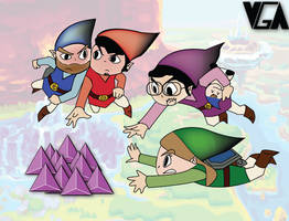 VGA Four Swords Adventure by PacDuck