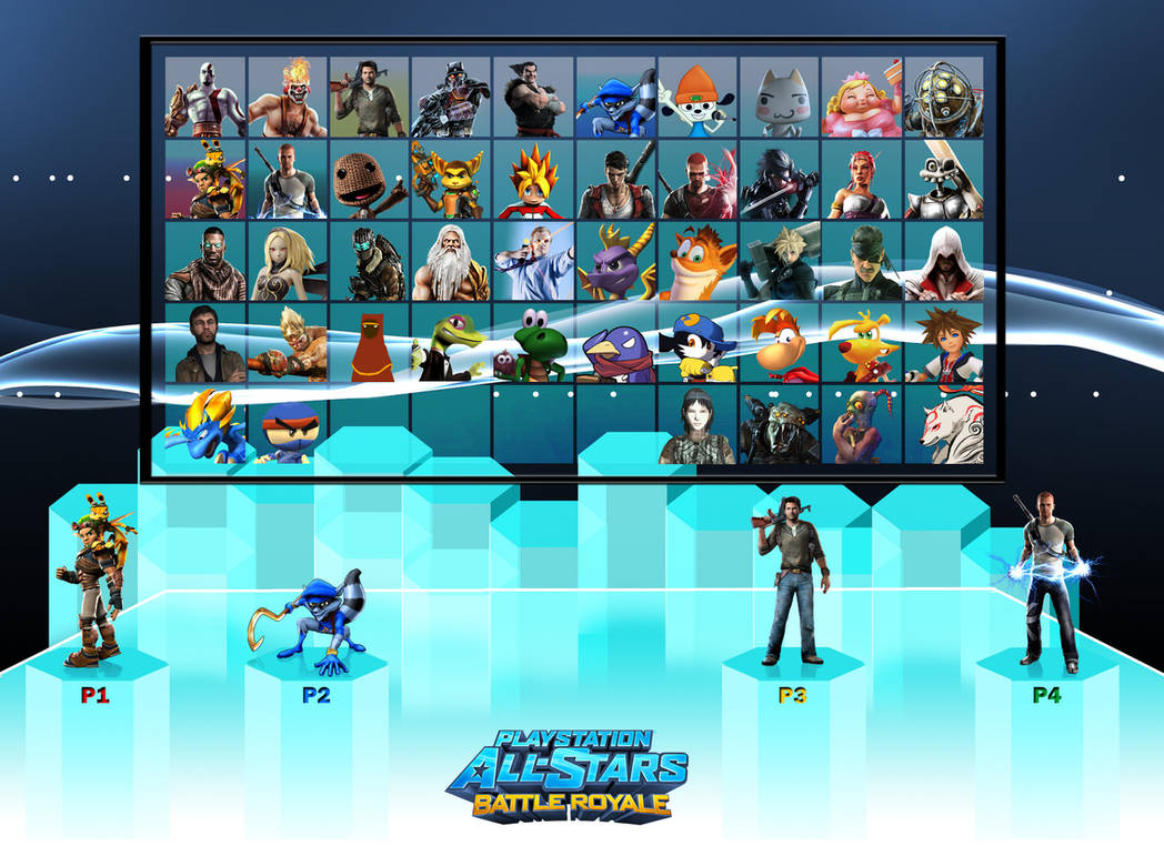 Playstation All-Stars: Battle Royale final roster