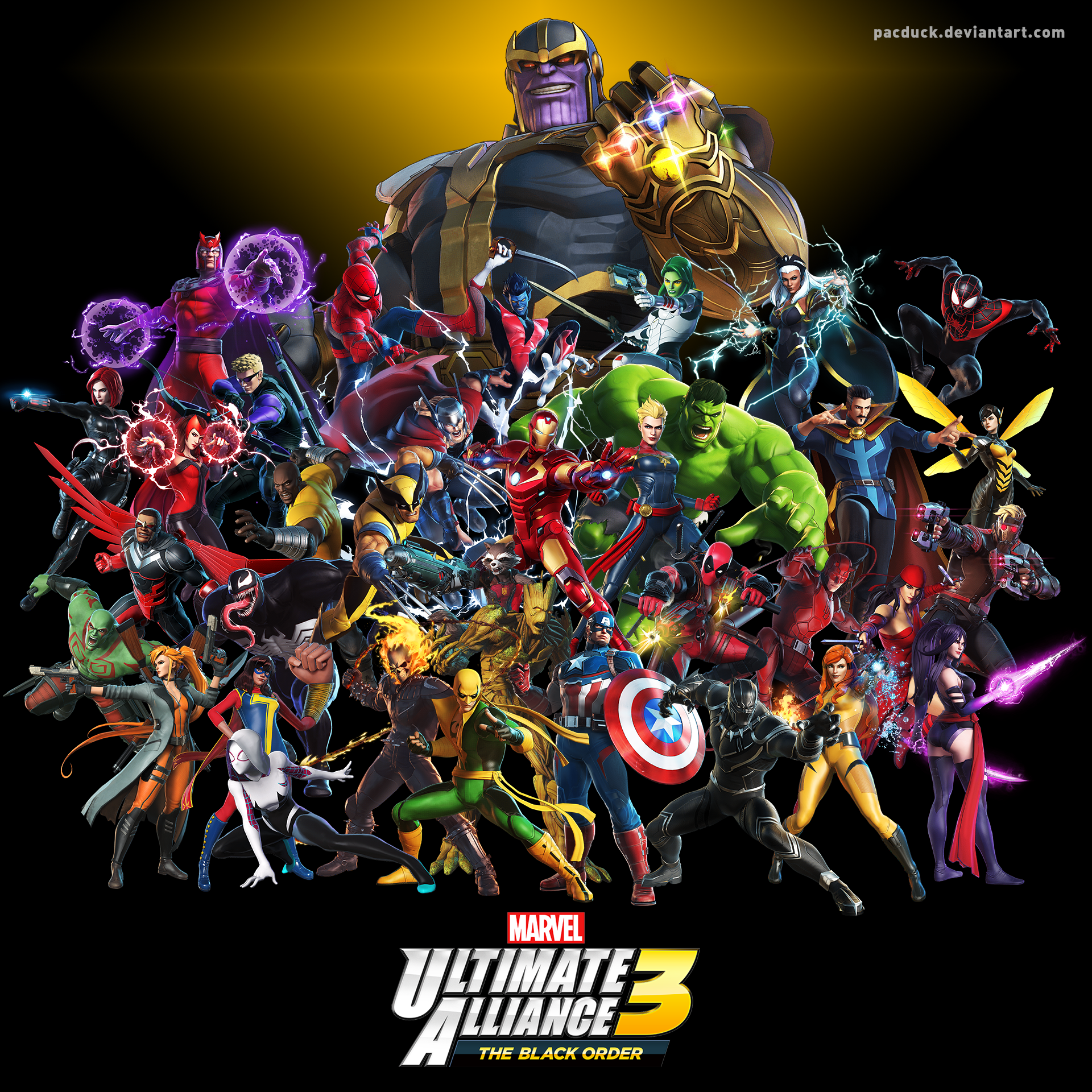 Marvel Ultimate Alliance 3 By Pacduck On Deviantart