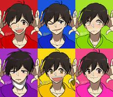 avatar osomatsu for my team by Kanomatsu
