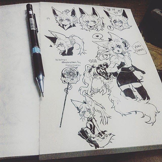 [OC] Hibikyu by Kanomatsu