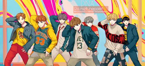 BTS | DNA | by Kanomatsu