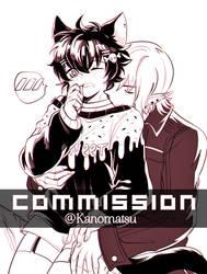 CM : Drom x Raven [ INKING ] by Kanomatsu