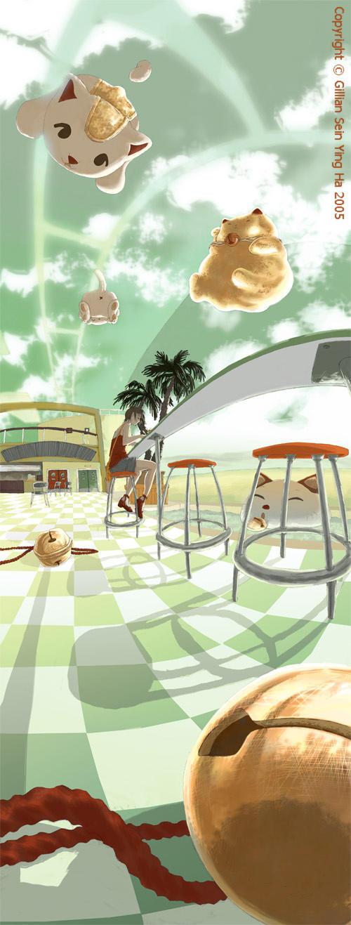 Nekoland Cafe by paladinknight