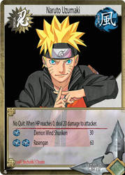 Naruto Trading Card by DevinBliss