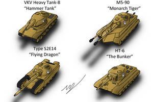 Equestrian Heavy Tanks