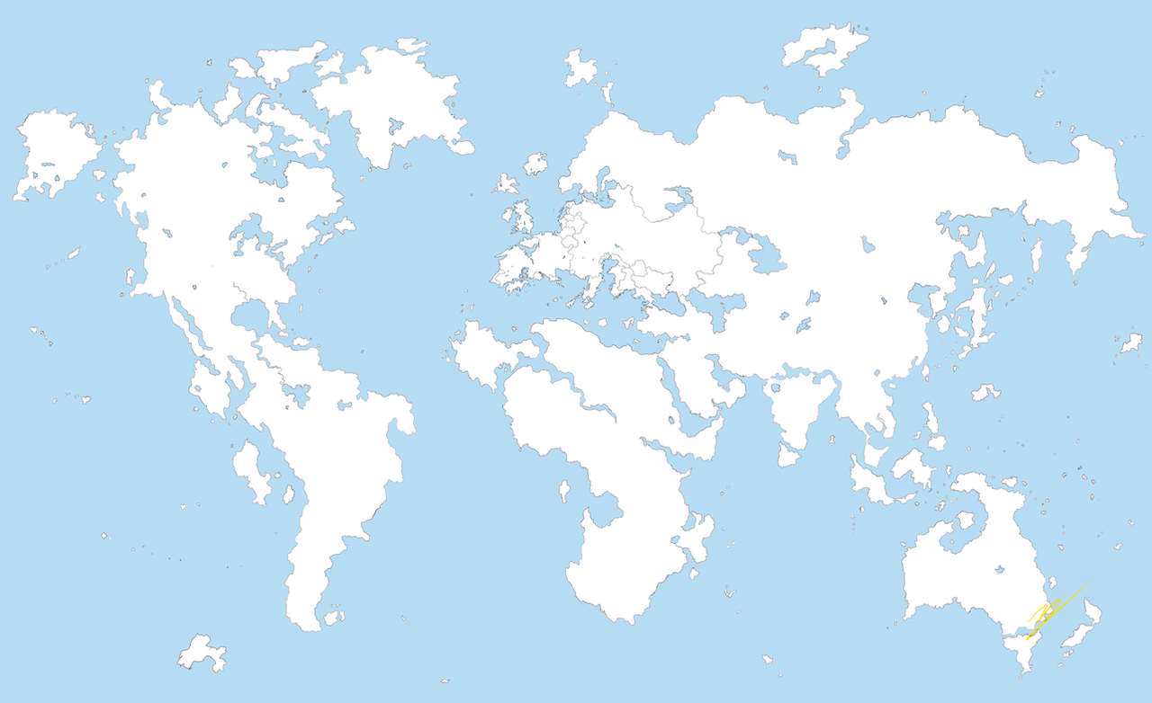 VC World Map More Land Edition by ZatGeneral