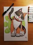 Portrait of our Cat!