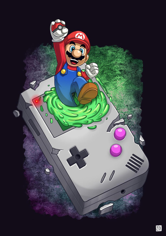 My favorite things! (Super mario_gameboy_pokemon)