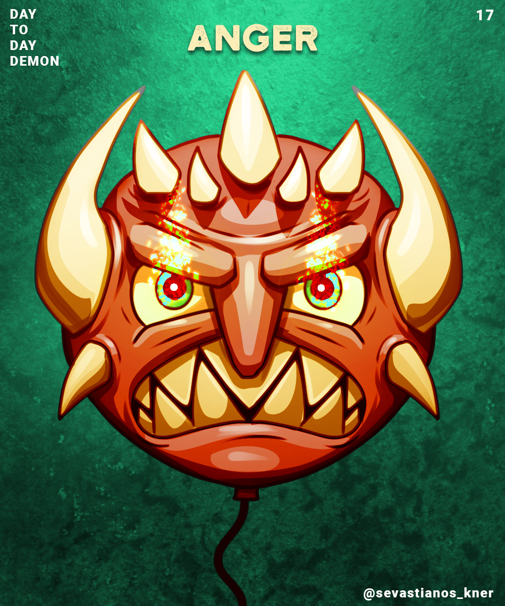 Day to day Demon 17 (Anger)