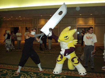 Zabuza VS. Digimon by DJFeLiX