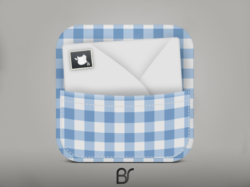 mail icon by BlackSelf91