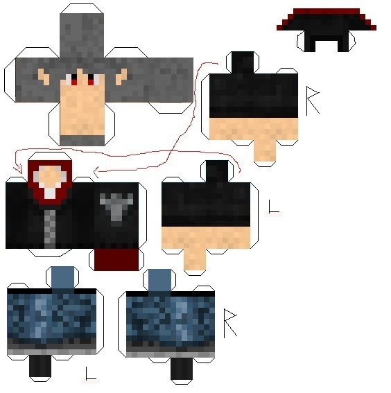 My Minecraft Skin Papercraft By Superjay14 On Deviantart