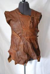 Maliks Leather Vest by The-Teaspoon-Of-Doom