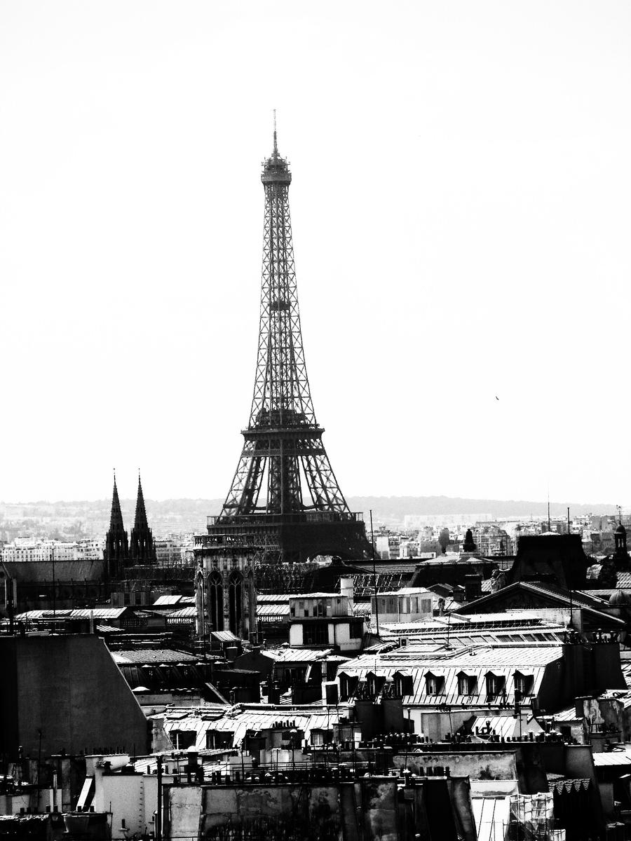 Black and white Paris by Albertak10 on DeviantArt
