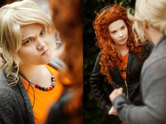 Annabeth vx. Rachel by ChorJail