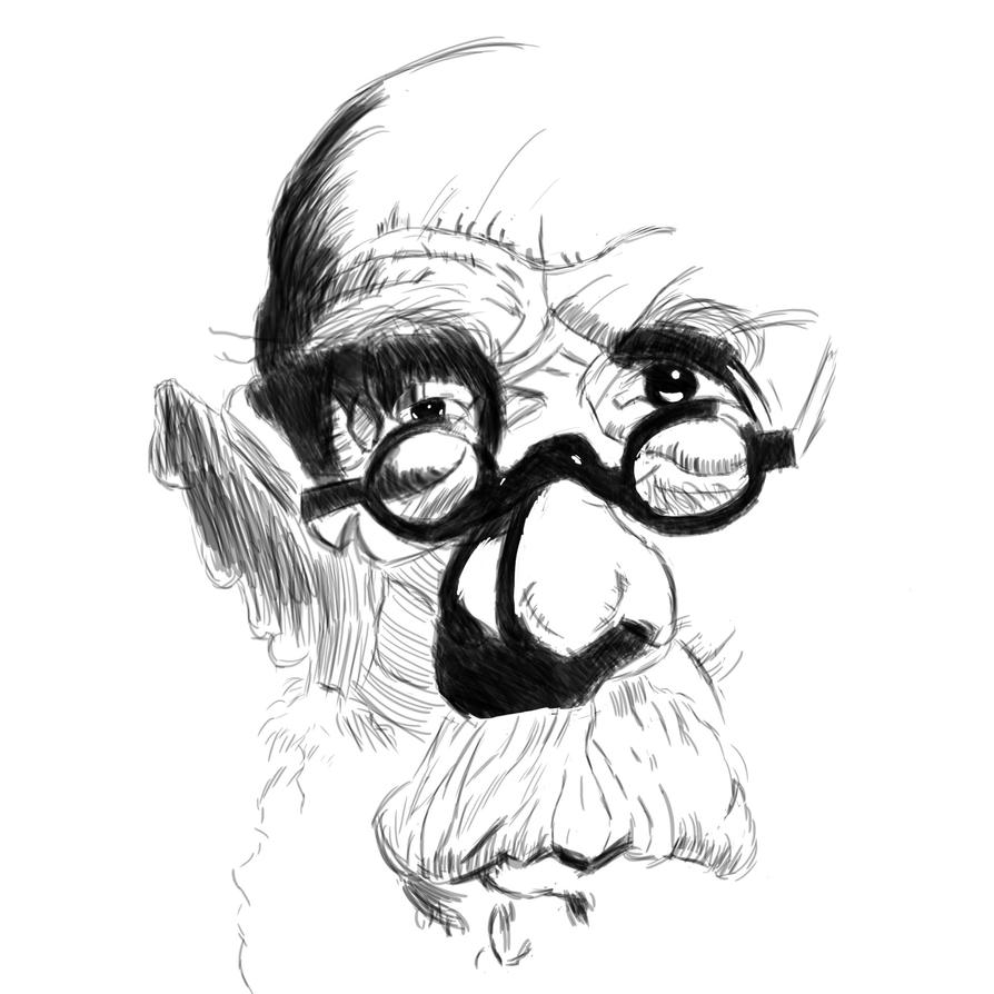 Chuck Close [Ink] by Reinkraft