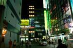 Akiba at Night by Reskiy