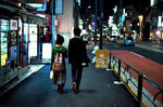 Spontaneous Tokyo: Couple by Reskiy