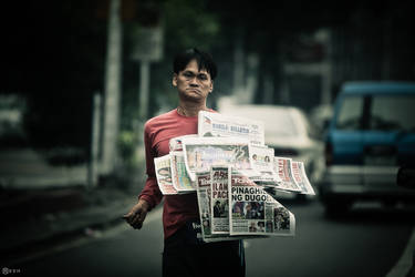 Paperboy-man I by Reskiy