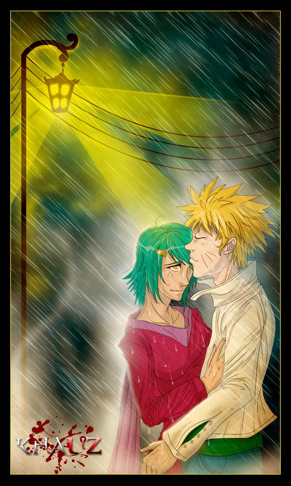 Naruto and Fu by khauz666