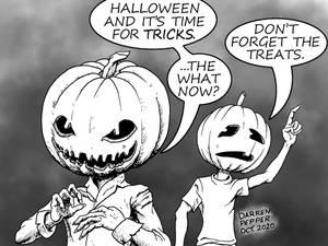Halloween Comic 2020