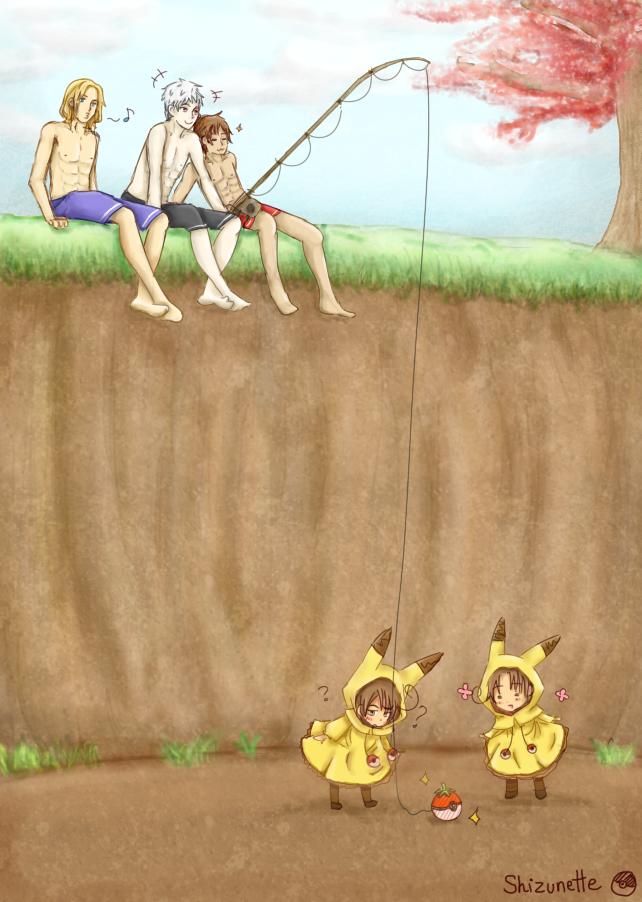 Allons attraper des petits gnenfants by Shizunette
