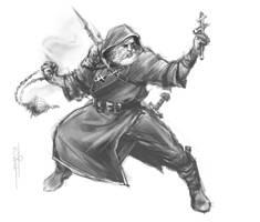 Russian demon-hunter by EGOR-URSUS