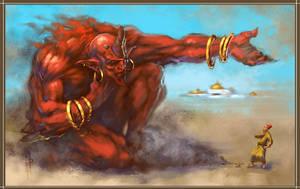 Aladdin's Lamp by EGOR-URSUS