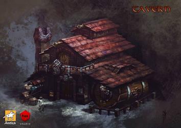 Tavern by EGOR-URSUS